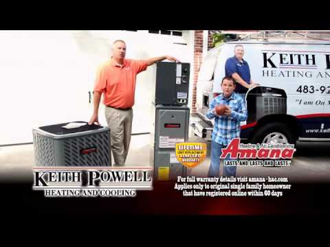 Amana Heating System Keith Powell And Cooling