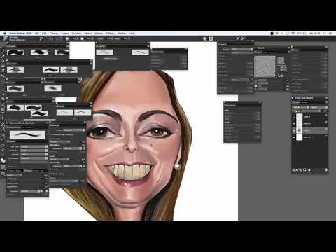 Short review of Corel Painter 2019