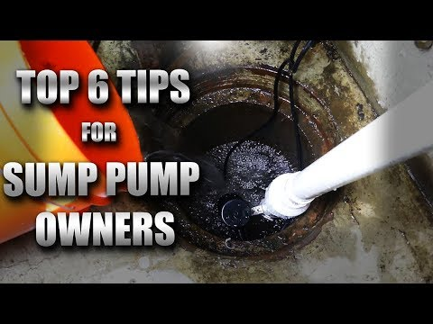 6 Things Sump Pump Owners NEED to Know