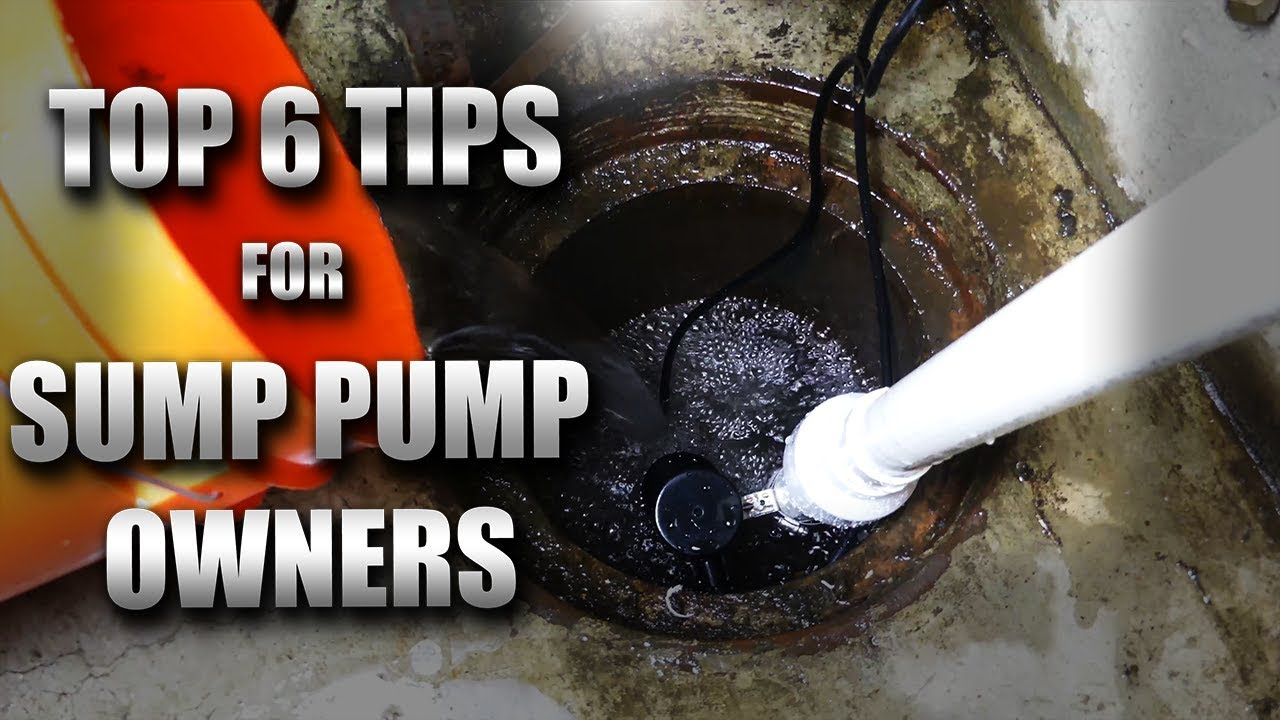 6 Things Sump Pump Owners Need To Know Youtube