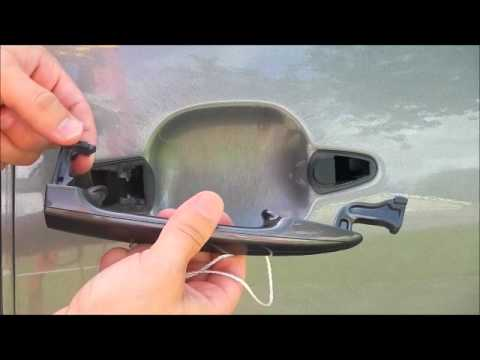 How To Replace A Toyota Sienna Outside Door Handle 2004