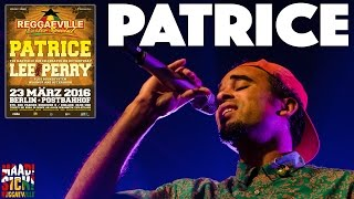 Patrice in Berlin @ Reggaeville Easter Special 2016