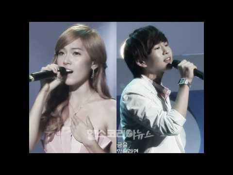 Jessica & Onew - One Year Later instrumental (w/ Onew voice)