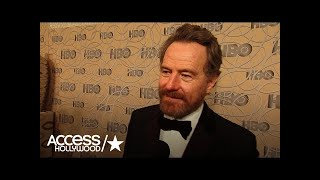 Repeat youtube video Bryan Cranston Reacts To Meryl Streep's Golden Globes Speech
