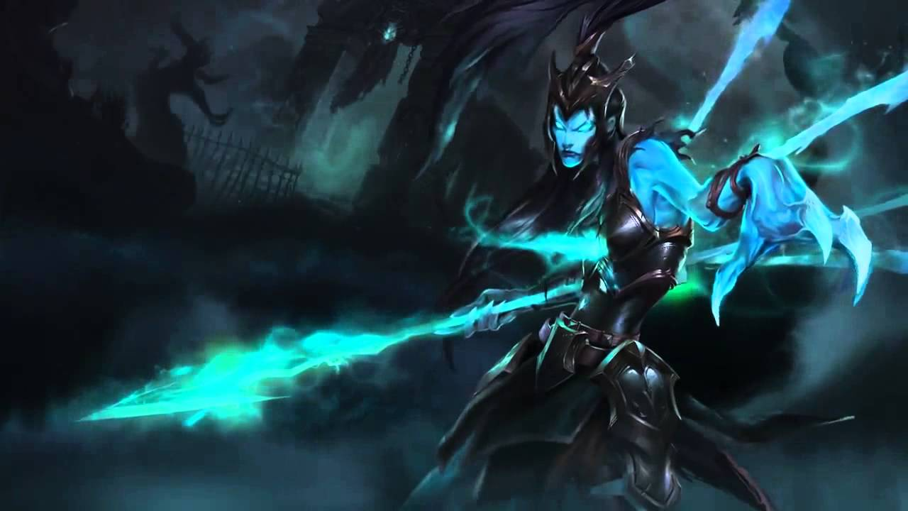 Kalista League Of Legends Login Screen With Music Youtube