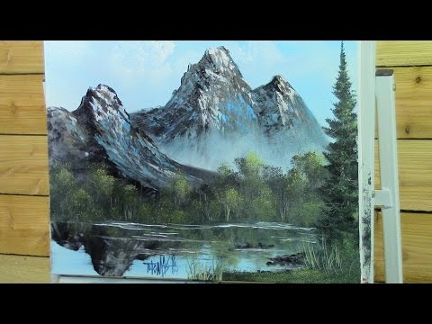 Mirror Mountain Painting With Magic wet on wet oil painting full show season 3 ep 3