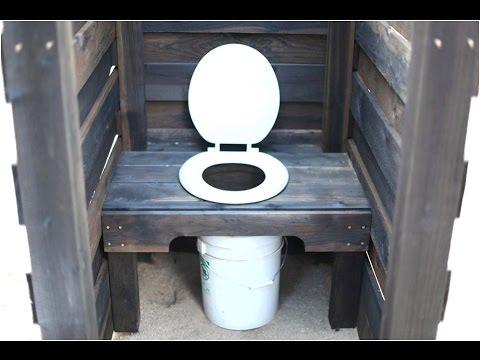 Дачный деревянный туалет своими руками. Как сделать туалет на даче - инструкция