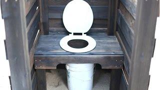 Дачный деревянный туалет своими руками. Как сделать туалет на даче - инструкция(, 2015-08-08T07:36:06.000Z)