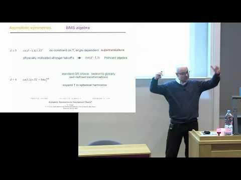 Modern developments in General Relativity: Glenn Barnich AND Mihalis Dafermos