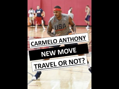 Carmelo Anthony's New Move   A Travel Or Not A Travel?