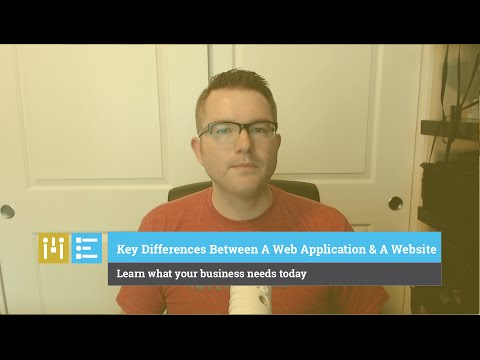 Key Differences Between a Web Application and a Website