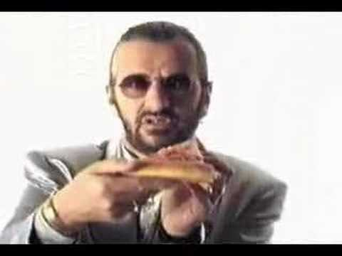 Image result for ringo starr pizza hut