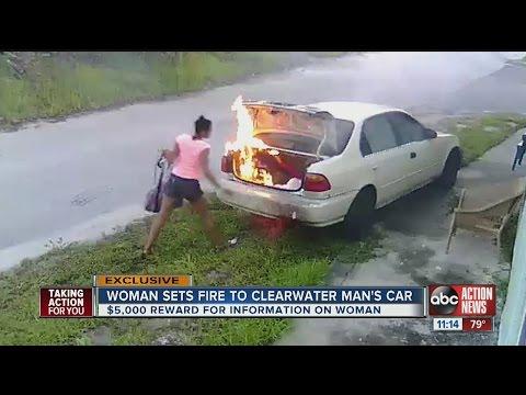 ¿Cuestión de karma?: quiso  vengarse de su exnovio pero le prendió fuego al auto equivocado