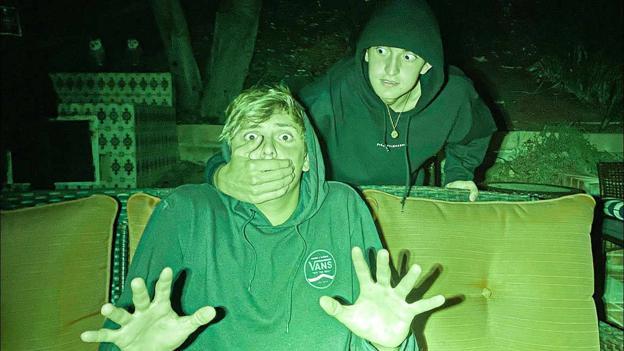 Hide & Seek at MIDNIGHT *terrifying*