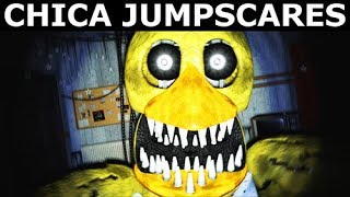 JOLLY 3: Chapter 2 - Rusty Chica Animatronic Jumpscares (FNAF Horror Game 2018)
