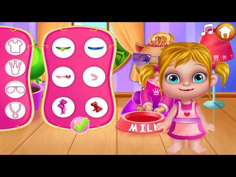 Fun Little Baby Care \ Tooth Fairy Little Helper Kids Game Toilet Clean Up \ #LITTLEKIDS