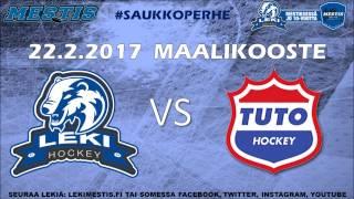 LeKi - TUTO Hockey 22.2.2017 pelikooste