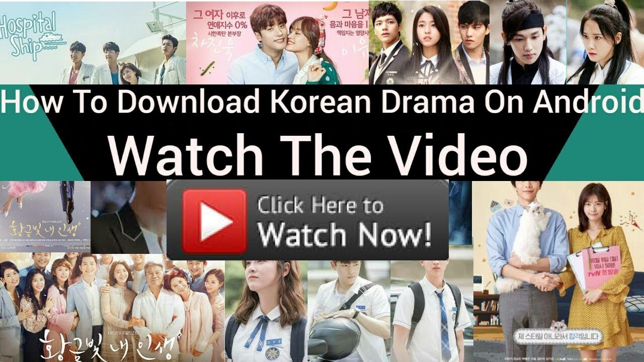 How to download korean drama on android youtube how to download korean drama on android ccuart Image collections