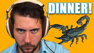 Eating Scorpions So My Bite Is Venomous