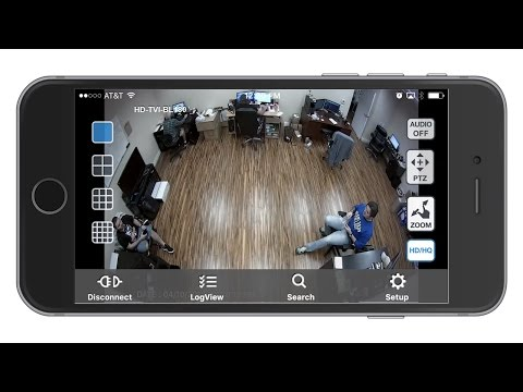 video surveillance using iphone