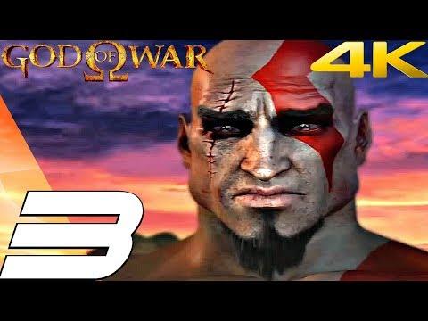 God of War 1 HD - Gameplay Walkthrough Part 3 - Athens & Zeus Fury [4K 60FPS]
