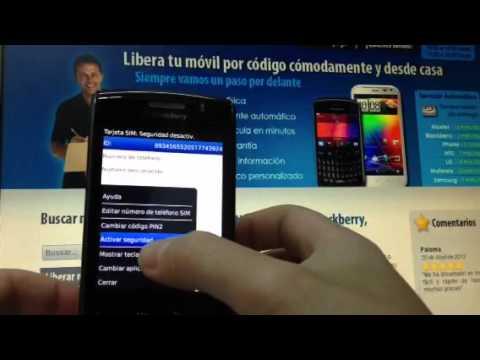 Liberar Blackberry 9520 Storm 2 de Vodafone, Orange o Yoigo