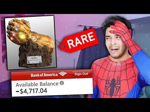 Buying EVERY Superhero item from WISH.COM! (Avengers Infinity War BedRoom MAKEOVER)