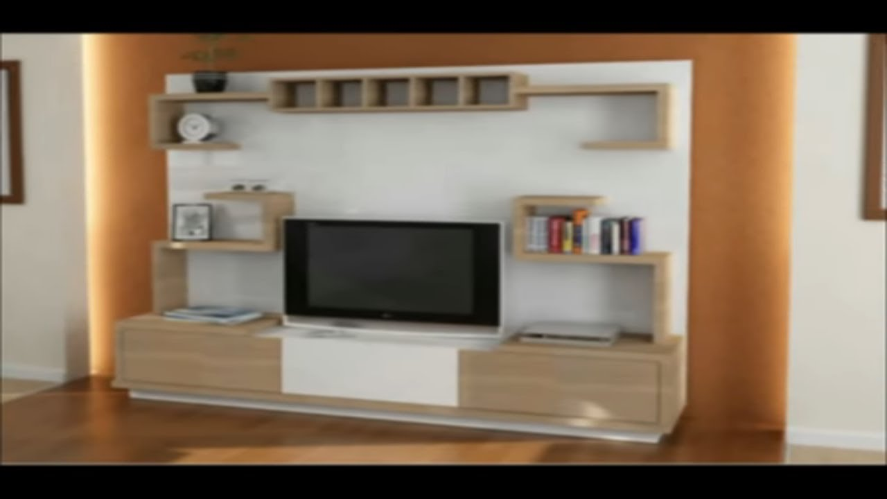 MODERN TV SHOWCASE DESIGN // TV CABINET DESIGN//LCD TV ...