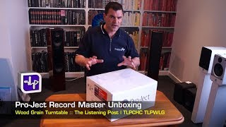 Pro-Ject Debut Record (Player) Master Unboxing | The Listening Post | TLPCHC TLPWLG