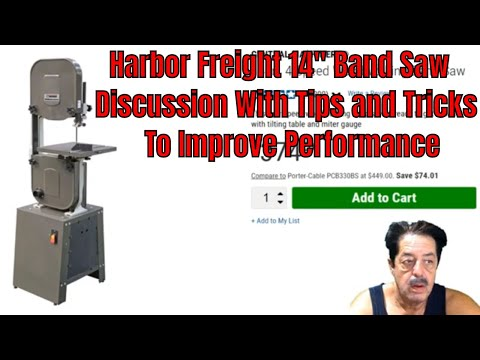 """Harbor Freight 14"""" Band Saw Discussion"""
