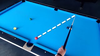 Pool Lesson | H๐w To Calculate One Rail Kick Shots