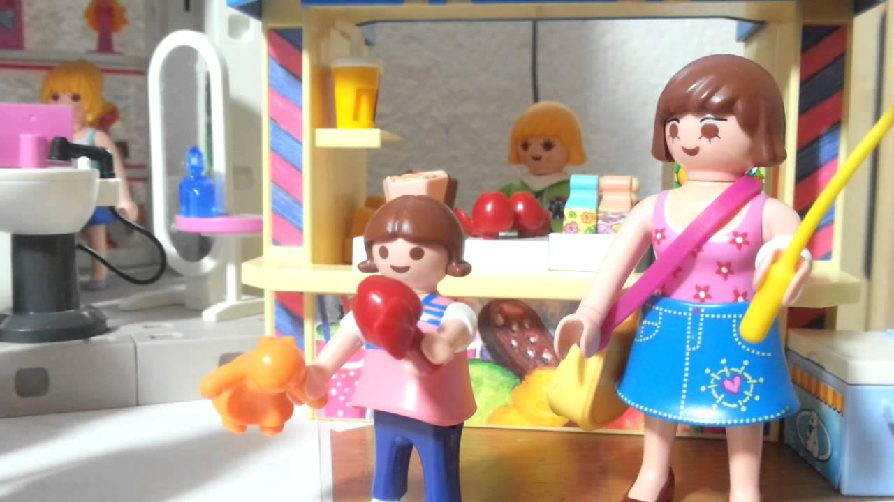 eröffnung vom shopping center playmobil film ouverture