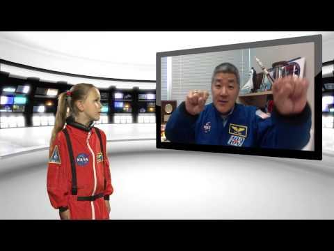 Sofia interviews astronaut Dan Tani