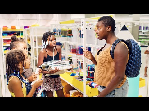 BACK TO SCHOOL SHOPPING WITH BLACK MOMS FOR HOMESCHOOL