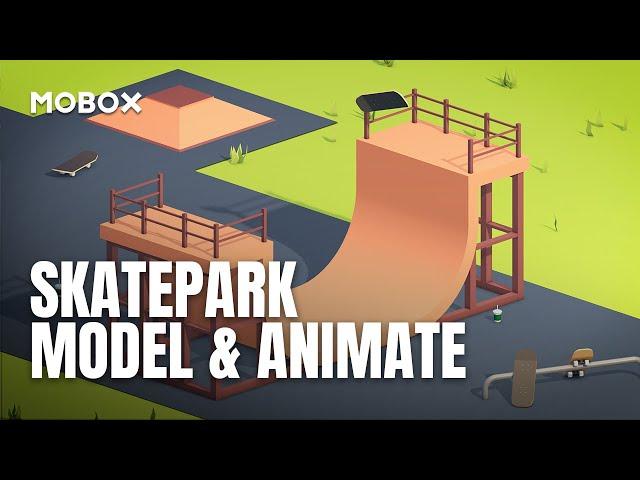 Skate Park Modeling & Animation - Cinema 4D Tutorial