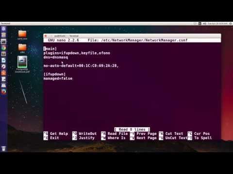 How to fix Device Not Managed on ubuntu 14.04,15.10, 16.04