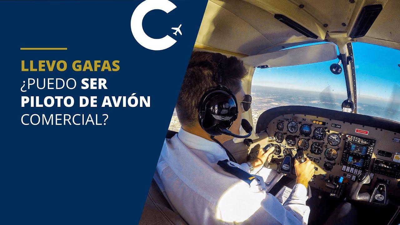 Llevo gafas, ¿puedo ser piloto de avión? | CESDA - Universidad de Pilotos