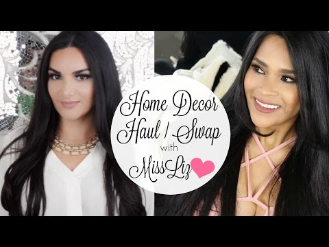 Home Decor Haul SWAP w MissLizHeart