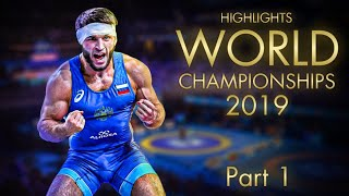 World championships 2019 Highlights Part 1 | WRESTLING