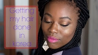 Where to get black hair done in South Korea
