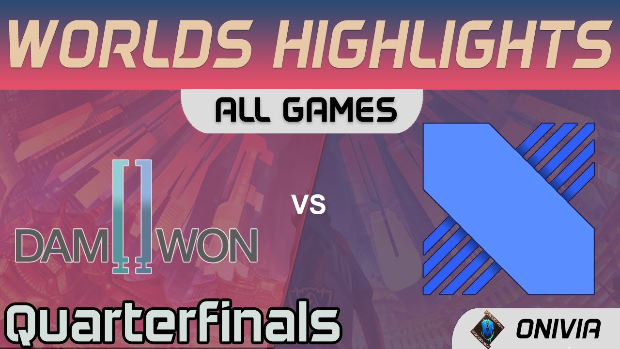 DWG vs DRX Highlights ALL GAMES Quarterfinals Worlds 2020 Playoffs DAMWON Gaming vs DRX by Onivia