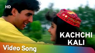 Kachchi Kali Kachnar Ki - Akshay Kumar - Ayesha Jhulka - Waqt Hamara Hai - Bollywood Songs - Asha