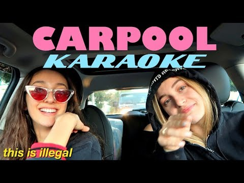 CARPOOL KARAOKE! | my current playlist!