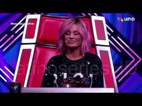 Renata Tello Cd Mexico La Voz Kids Azteca Capitulo 1 Lunes 22 Marzo 2021