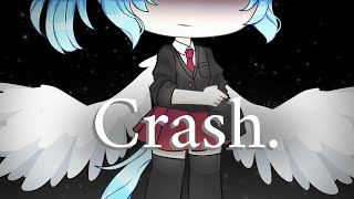 Crash meme [remake + Backstory spoiler] - Gachalife + Flipaclip