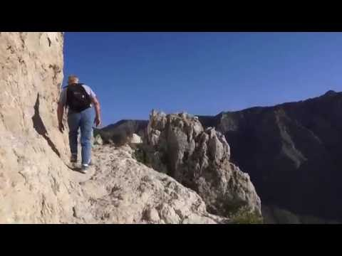Hiking Guadalupe Peak, Highest point of Texas