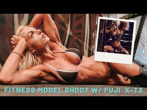 Fitness Portrait Shoot With The Fujifilm X-T3 And Godox AD200