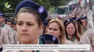 Peregrinação à Penha reúne milhares de fiéis