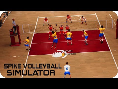 SPIKE VOLLEYBALL - The Poor Simulator Gameplay   PC STEAM HD  