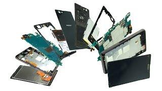 Sony Xperia Z1 Compact Teardown